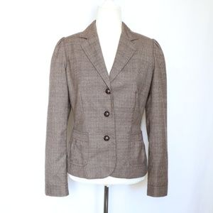 Banana Republic Brown Blazer Jacket  size 6